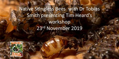 Native Stingless Bees  with Dr Tobias Smith presenting Tim Heard's workshop tickets