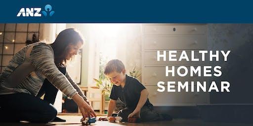 ANZ Healthy Homes Seminar, Wellington