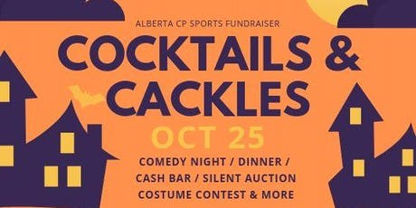 Cocktails, Cackles & Spooky Family Fun - A Fundraiser for Alberta CP Sports tickets