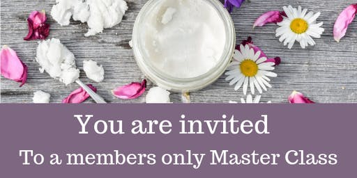 Members only  Master Class 31st August 2019