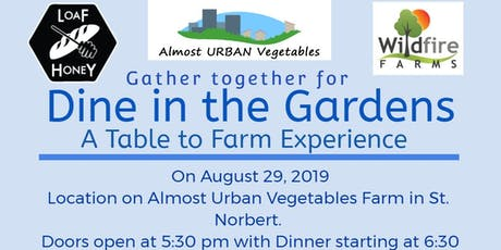 Dine in the Garden tickets
