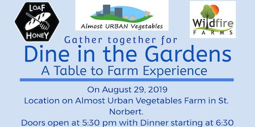 Dine in the Garden