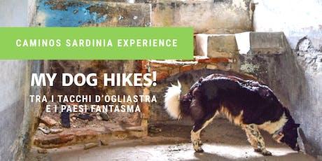 My dog Hikes! Tra i tacchi d'Ogliastra e i Paesi Fantasma. biglietti