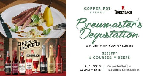 Brewmaster's Degustation - A Night with Rudi Ghequire