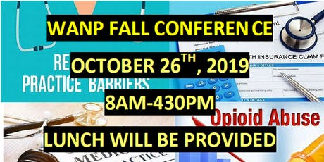 Wisconsin Association of Nurse Practitioners Fall Conference  tickets