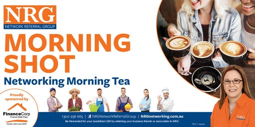 NRG Morning Shot Networking Morning Tea with DJ & Ramona