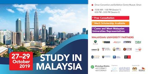 STUDY IN MALAYSIA - EDUTRAC OMAN 2019