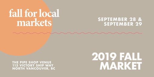 Fall For Local™ 2019 Fall Market