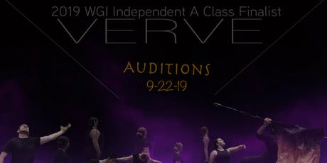 VERVE 2020 AUDITIONS tickets