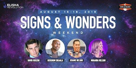 Signs & Wonders Weekend tickets