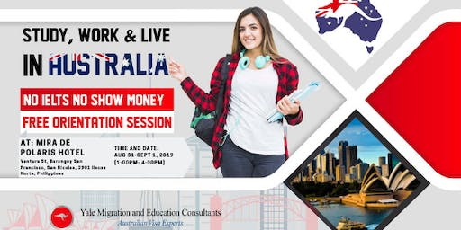 STUDY, WORK AND LIVE in AUSTRALIA!