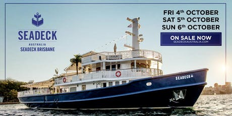 Seadeck Brisbane Sunday Cruise Sun. 6th Oct. tickets