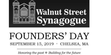 Walnut Street Synagogue Founders' Day tickets