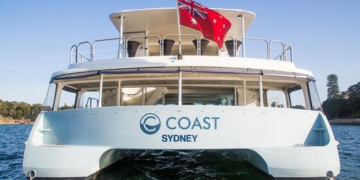 New Years Eve Cruise COAST, Harbour of Light Parade. Cocktail style event. The best view in Sydney. Early Bird PRICE