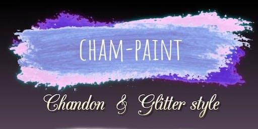 Cham-Paint Chandon & Glitter Style