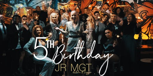 JR MGT 5th Birthday