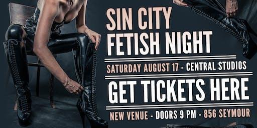 Sin City Fetish Night   August 17   TICKETS