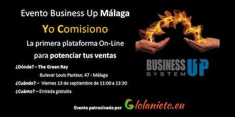 Evento Business Up Málaga tickets