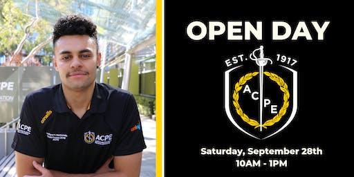 ACPE Open Day - 28 September 2019 - Sydney Olympic Park