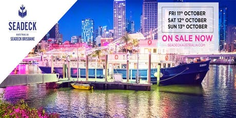 Seadeck Brisbane Saturday Cruise Sat. 12th Oct. tickets