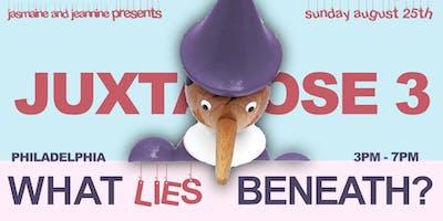 Juxtapose 3: What Lies Beneath?