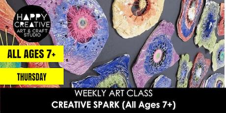 Creative Spark (All Ages 7+) - THURSDAY CLASS tickets