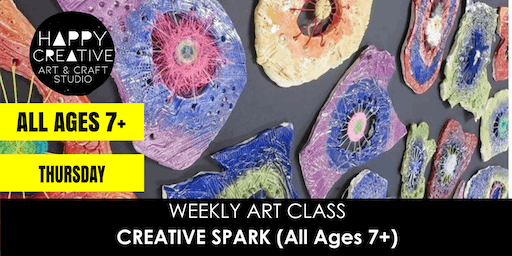 Creative Spark (All Ages 7+) - THURSDAY CLASS