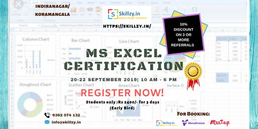 MS Excel Workshop