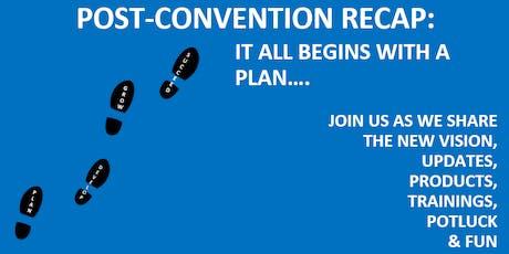 Post Convention Recap & Next Steps tickets