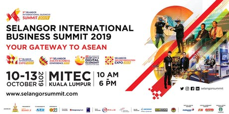 SELANGOR INTERNATIONAL BUSINESS SUMMIT tickets