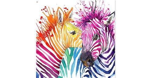 Colour my Zebra - Brisbane