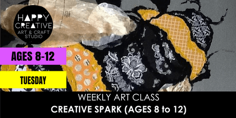 Creative Spark (Ages 8 to 12) - TUESDAY CLASS tickets