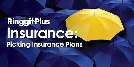 RinggitPlus Insurance Workshop 2: Picking Insurance Plan (Testing) tickets