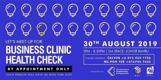Business Clinic Health Check (AUG JB)