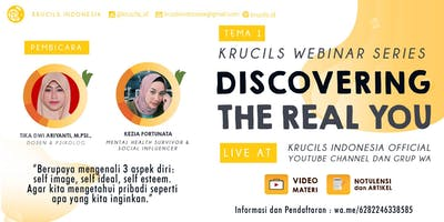 Krucils Webinar Series #1 : Discover The Real You [Paid Event]
