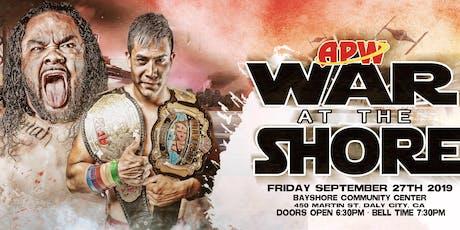 All Pro Wrestling: #WarAtTheShore  tickets