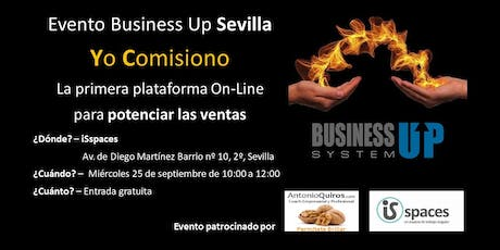 Evento Business Up Sevilla Septiembre entradas