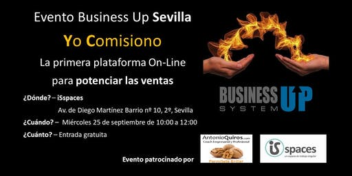 Evento Business Up Sevilla Septiembre