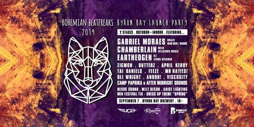 Bohemian Beatfreaks 2019 • Byron Bay Launch Party