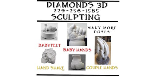 Diamonds 3D Sculpting