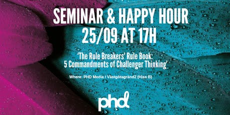 Seminar & Happy Hour tickets