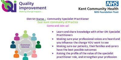 East Kent Adult Clinical Services - Community of Practice