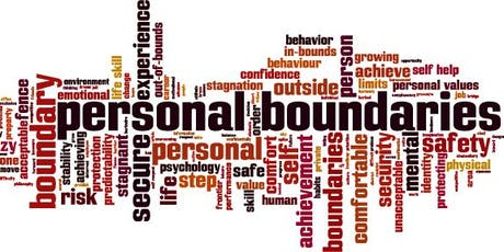 Free Seminar on The Art of Saying NO: Establishing Healthy Boundaries tickets