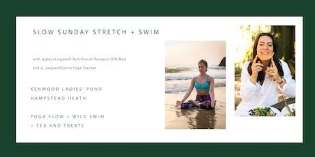 SLOW SUNDAYS STRETCH + SWIM tickets
