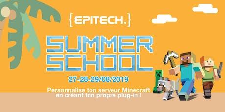 Epitech Summer School - Atelier de découverte du code pour les 16-19 ans billets