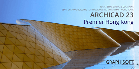 ARCHICAD 23 Premier Hong Kong tickets