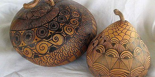 Introduction to the World of Gourd Art with Birgit Grapentin SATURDAY PM
