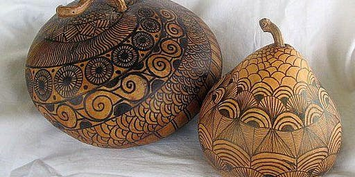 Introduction to the World of Gourd Art with Birgit Grapentin SATURDAY AM