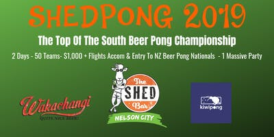 ShedPong - Top Of The South Beer Pong Championship
