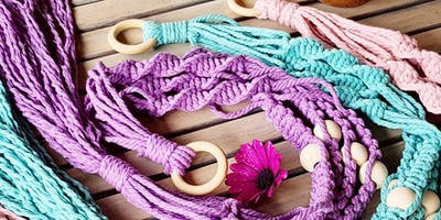 Macrame' Plant Hanging Workshop